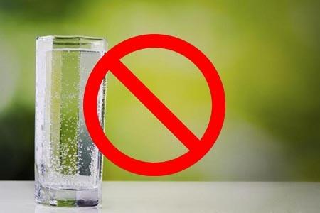 исключаем газированную воду