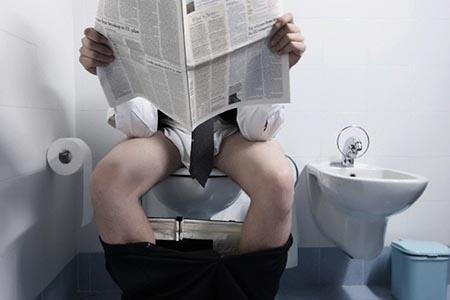 регулярное посещение туалета