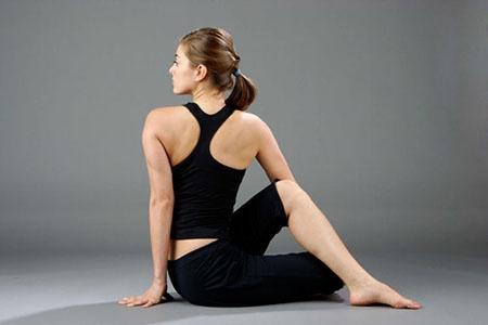 скручивание спины