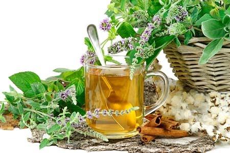 чай на основе трав