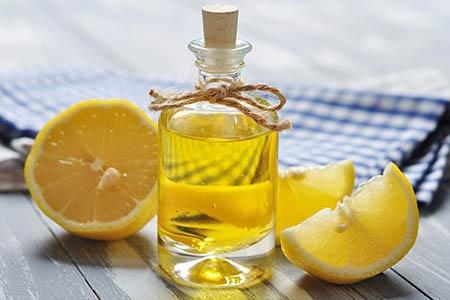 олифа и лимон