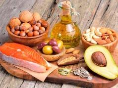 высококалорийные продукты